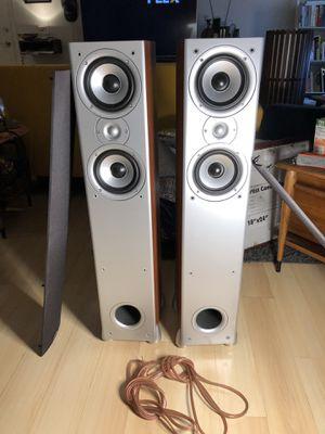 Polk Audio Monitor 50 Floorstanding Speakers w/ Cable for Sale in Santa Monica, CA
