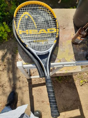 Head ti.conquest tennis racket. With cover. for Sale in Hemet, CA