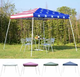 10' x 10' EZ Pop Up Canopy Outdoor Slant Leg Wedding Party Tent Folding Gazebo HOT SALE!! Fast Shipping!! Blowout price!! for Sale in North Lauderdale,  FL