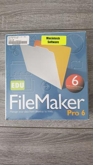FlieMaker Pro 6 Software for Sale in Lutz, FL