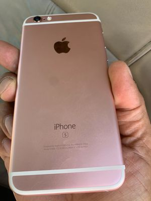 Rose gold iPhone 6s 32gb factory unlocked no issues at all. for Sale in Garden Grove, CA