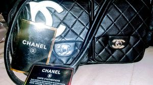 Chanel multi pocket shoulder bag w authenticity certificate for Sale in Ramona, CA