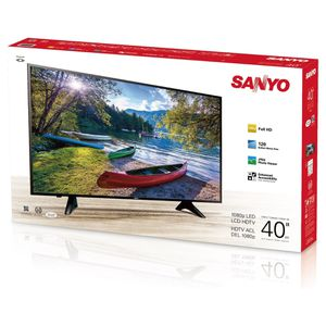 """Sanyo 40"""" Class FHD (1080P) LED TV (FW40D48F) - Reply your offer. for Sale in Westborough, MA"""