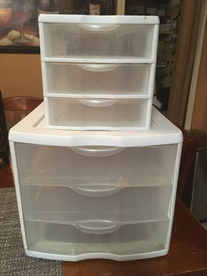 Plastic drawers for Sale in Garland, TX