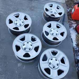 Stock jeep wangler 15 inch rims for Sale in Norco, CA