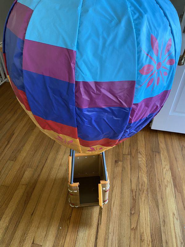 American girl hot air balloon