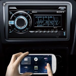 Sony WX-GS920BH High-Power Receiver with Bluetooth with Sirius XM tuner and steering wheel control interface bundle for Sale in Dallas, TX