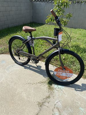 Brand new mens 26 inch bayside 7 speed beach cruiser bike for Sale in La Puente, CA