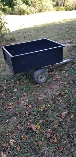 Trailer with tilt bed and lift tailgate for lawnmower or ATV. Belpre,oh for Sale in Belpre, OH
