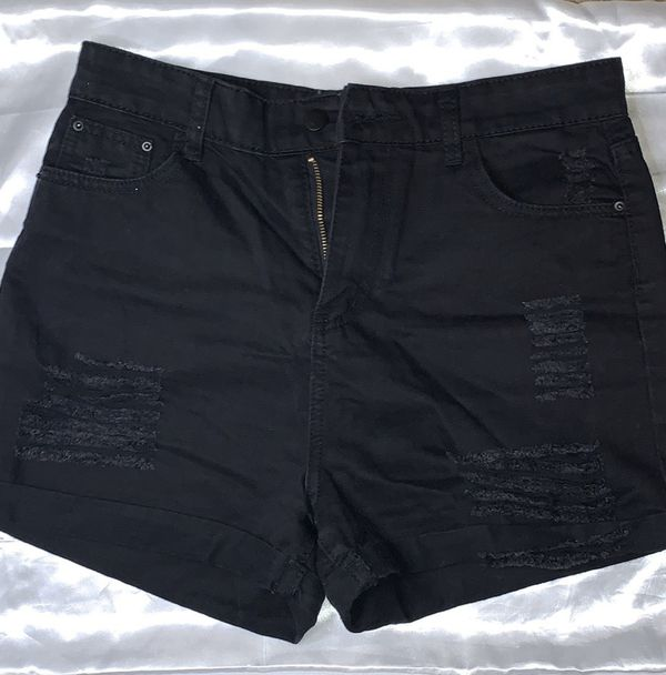 SHIEN Black Shorts