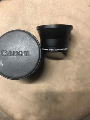 Cannon. Camera lens for Sale in Moreno Valley, CA