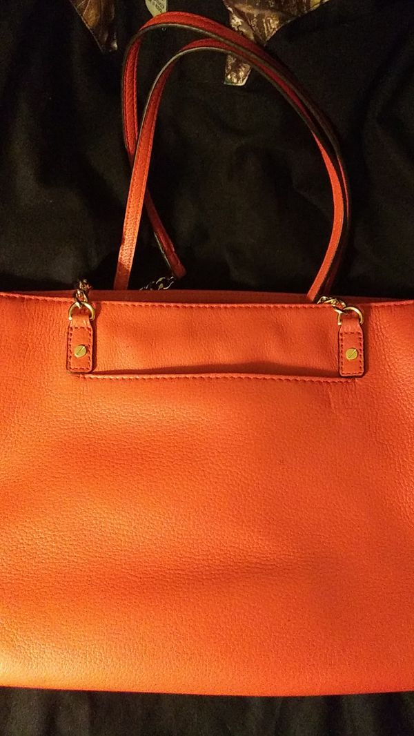 MICHAEL MICHAEL KORS Jet Set Large Saffiano Leather Chain Top-Zip Tote Bag