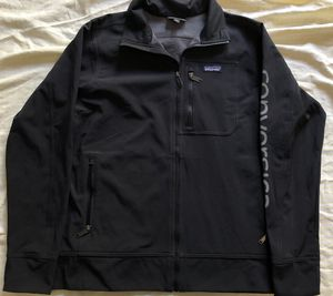 Patagonia Black Full Zip Jacket Common Threads L 51884 Windbreaker Fleece Promo for Sale in Valencia, CA