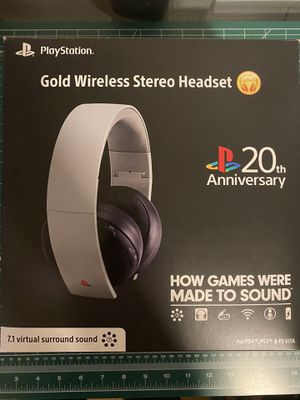20th Anniversary PS4 Headset for Sale in Avondale, AZ