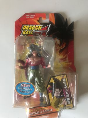SS4 Goku collectible action figure for Sale in San Diego, CA