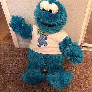 Sesame Street Build A Bear Cookie Monster for Sale in Murrieta, CA