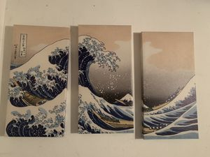 The Wave 3 Piece Canvas for Sale in Fremont, CA
