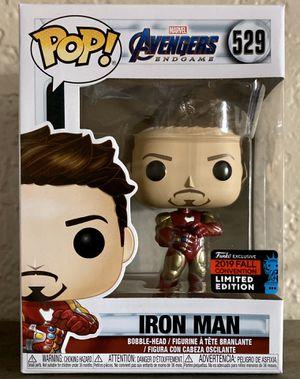 NYCC 2019 Amazon Shared Exclusive Avengers Endgame Iron Man 529 Funko Pop for Sale in El Cajon, CA