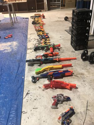 NERF GUNS NEED GONE!! for Sale in Delray Beach, FL