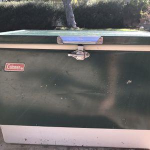 Vintage Coleman Cooler for Sale in Rolling Hills Estates, CA