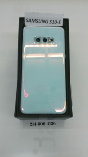 Samsung Galaxy S10-E for Sale in Irving, TX