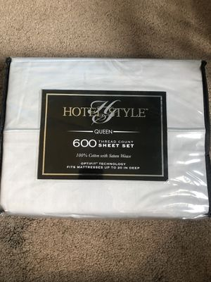 Sheets 600 threadcount for Sale in Glendale, AZ