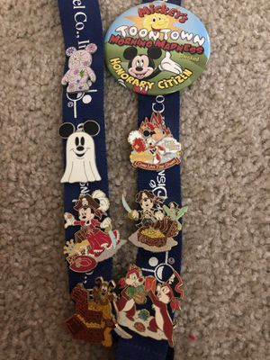 Disney Collectible Trading Pins - from Disneyland for Sale in Fremont, CA