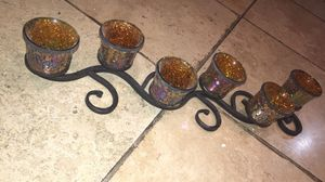 Glass Candle Holder for Sale in Donna, TX