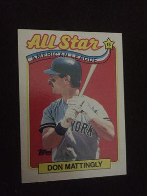 Don mattingly baseball card for Sale in Westland, MI
