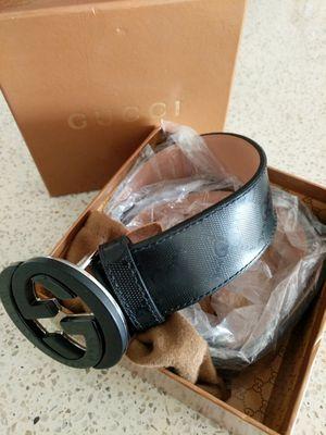 *NEW* Black gucci belt for Sale in Rockville, MD