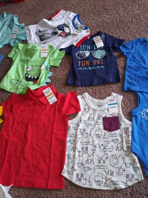 Boy clothes 3 months to 7 years