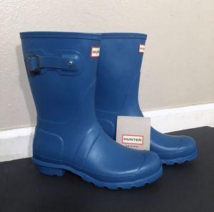 """Hunter OG Blue """"Magnetic"""" Short Rain Boot Matte for Sale in Spokane, WA"""