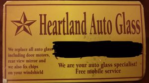 Free Mobile service. Heartland auto glass in the DFW for Sale in Mesquite, TX
