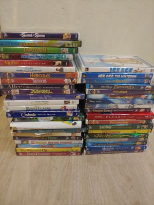 Disney/ Kids dvd lot for Sale in Boca Raton, FL