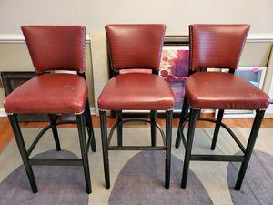 3 Bar Stools for Sale in Manassas, VA