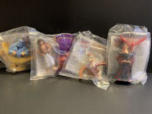 Aladdin Burger King Toys for Sale in Vancouver, WA