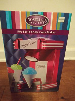 Snow cone maker for Sale in St. Louis, MO