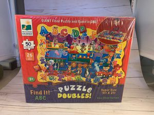FIND IT! ABC Giant Floor Puzzle And Game In One - 3ftx2ft for Sale in Phoenix, AZ