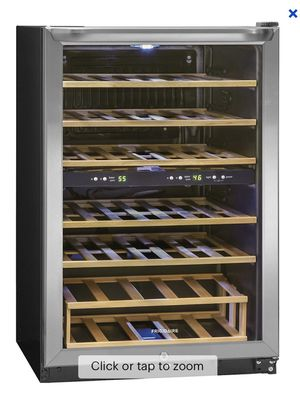 Frigidaire - 38-Bottle Wine Cooler - Stainless, New In Box, Small Dent In Front for Sale in Lexington, KY