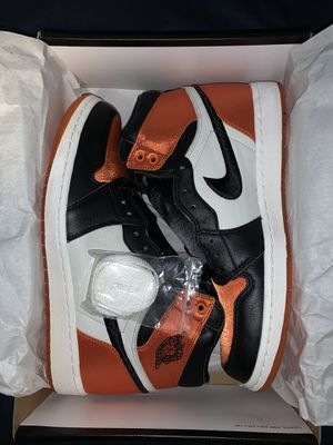 Air Jordan 1 satin shattered backboard for Sale in Cypress, CA