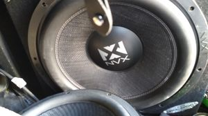 "15""NVX SUB DUAL voice coil for Sale in Buena Park, CA"