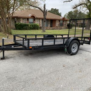 Trailer 5x12 Con Título Exelentes Condisiones for Sale in Irving, TX