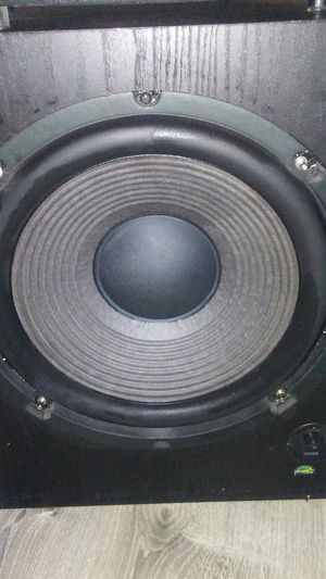 """Sony 12"""" subwoofer, technics speakers for Sale in Durham, NC"""