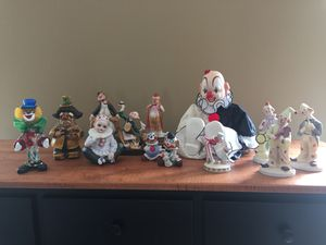 Antique Clown Collection for Sale in Chicago, IL