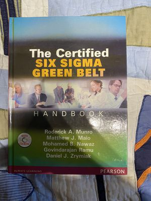 The Certified Six Sigma Green Belt for Sale in Arlington Heights, IL