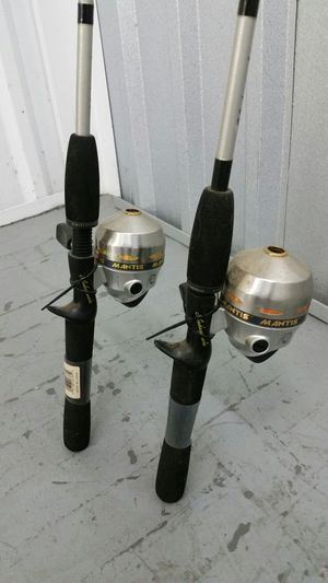 Pair of Shakespeare MANTIS Fishing Rods and Reels for Sale in Wall Township, NJ