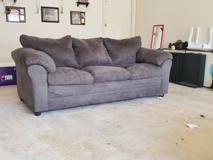 Couch and love seat (charcoal grey) for Sale in FT LEONARD WD, MO