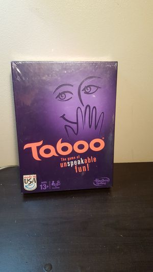 Taboo board game! Brand new! for Sale in Glen Burnie, MD