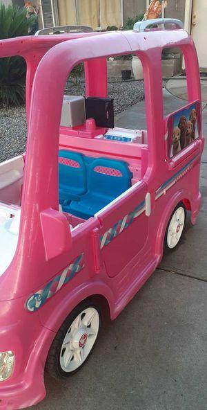 Power Wheels Barbie RV Camper for Sale in San Bernardino, CA