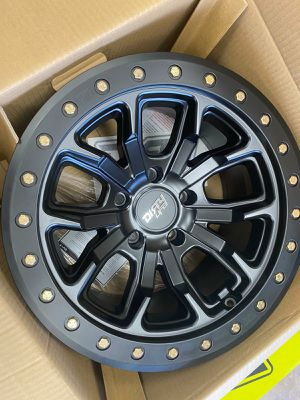 17 WHEELS FOR JEEP MONKEY RIMS AND TIRES for Sale in Phoenix, AZ